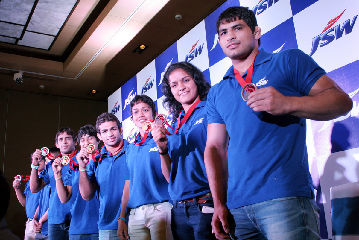 Indian player who won the medal in Common Wealth Games 2014