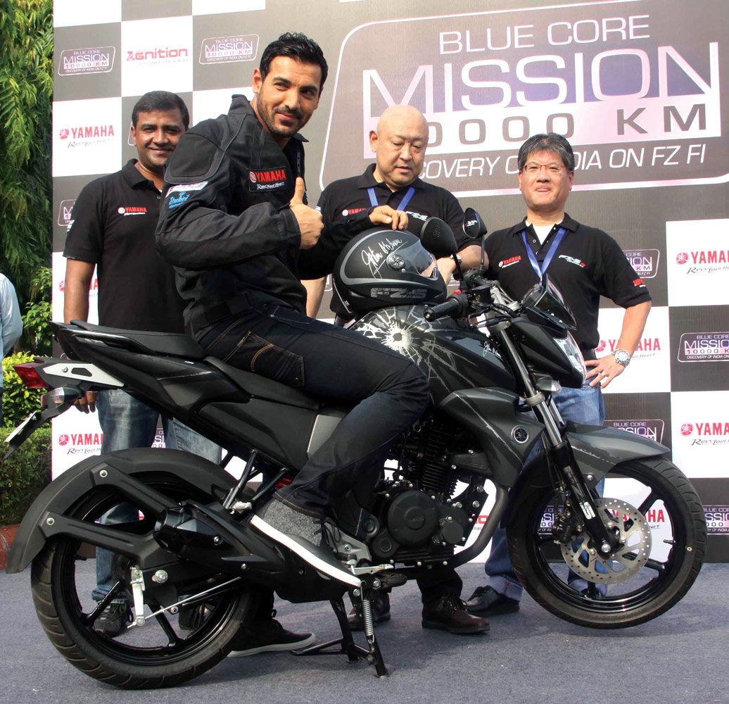 Mission 10000 Km launched yamaha motor