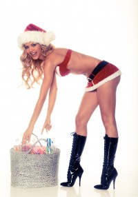 Kat Torres in 138 Water Christmas Photoshoot