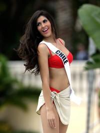 Its the Bikini Round at Miss Universe