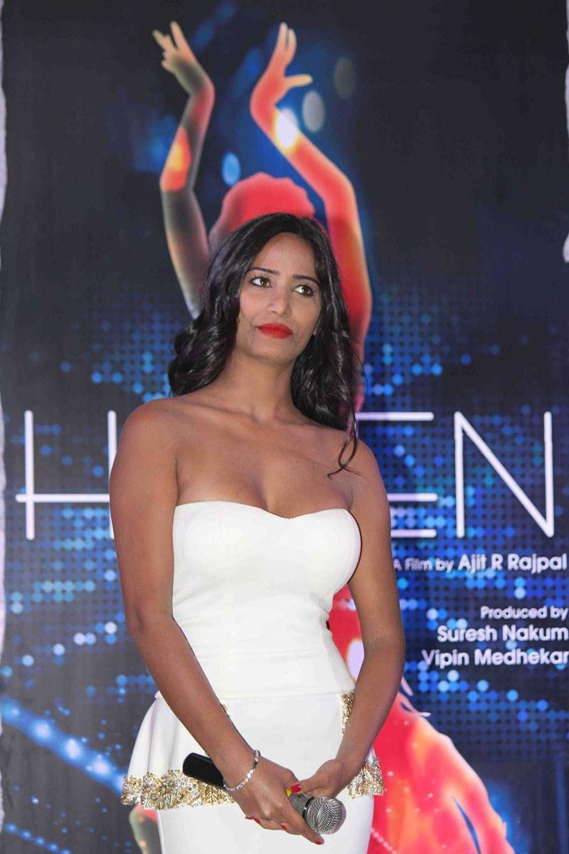 Poonam Pandey Launches Helen Movie Poster