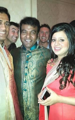 Suresh Rainas wedding