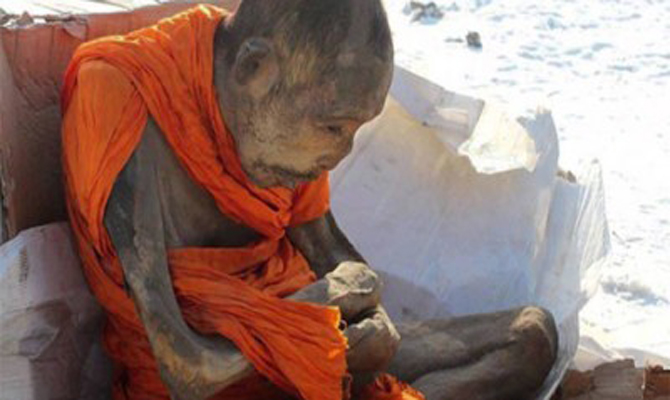 अजब-गज़ब: मंगोलिया में मिला 200 साल पुराना जिंदा तपस्वी भिक्षु!