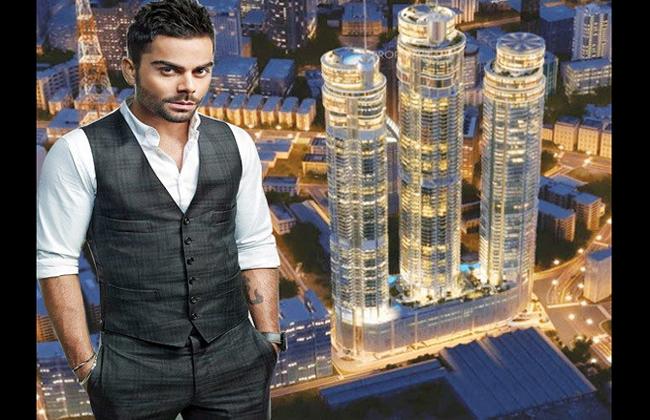कोहली ने मुंबई में खरीदा 34 करोड़ में Super Luxury फ्लैट