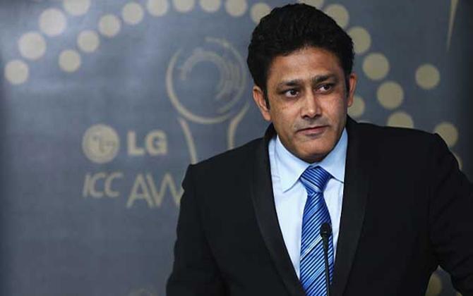 अनिल कुंबले बने टीम इंडिया के हेड कोच