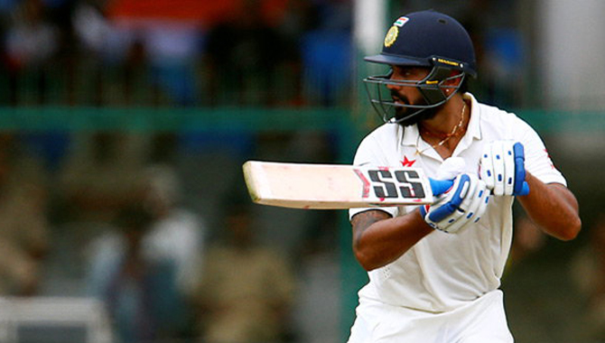 #INDvNZ:  पहले दिन भारत का स्कोर 291/9, 2 बल्लेबाजों की FIFTY