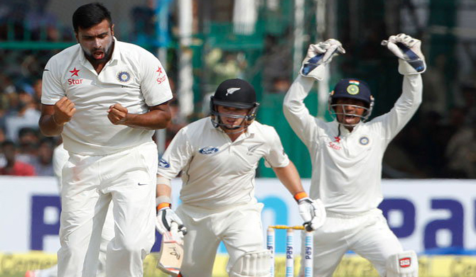 भारत ने NZ को 197 रनों से रौंदा, आश्विन ने झटके 10 विकेट