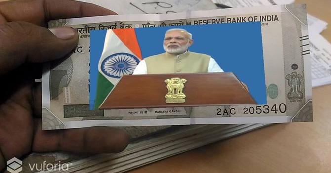 2000-500 के नोटों में छिपा है मोदी के नोटबंदी सन्देश का विडियो, ये है नोट का राज...