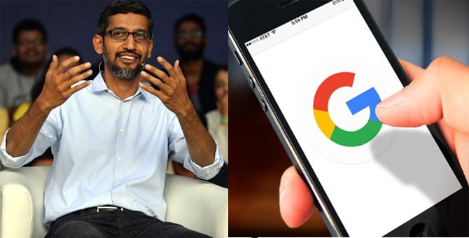 भारत में GOOGLE लांच करेगा 2000 रूपये में स्मार्ट फोन: सुंदर पिचाई