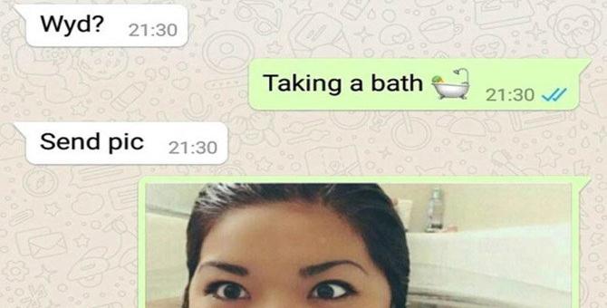 WhatsApp पर लड़की से मांगी नहाती हुई Photo, लड़की ने भेजी भी, फिर जो हुआ खुद देख लीजिए