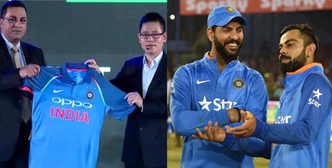 चैंपियंस ट्रॉफी के लिए बदली टीम इंडिया की जर्सी, PAK के साथ भारत का पहला मैच..