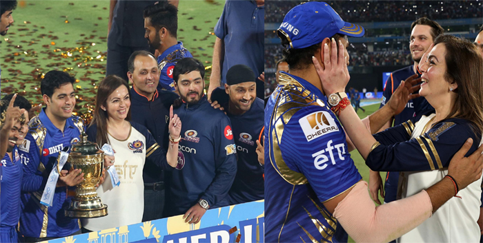 IPL इतिहास के सबसे रोमांचक फाइनल में जीत के बाद मुंबई पर हुई पैसों की बारिश...