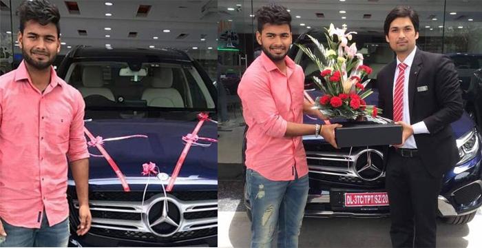 IPL में दिल्ली के लिए खेलने वाले 19 साल के ऋषभ पंत ने ली मर्सिडीज़ कार- Photos Viral
