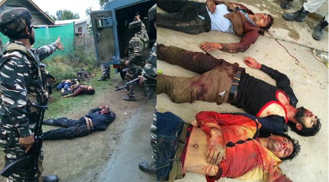 उरी के जैसे हमले की ताक में थे 4 आतंकी, CRPF ने कर दिया ढ़ेर