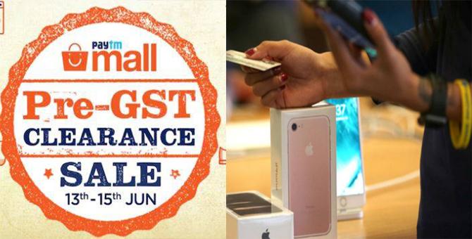 Paytm ने लगाई प्री-GST सेल, iPhone, रेडमी पर भारी छूट..