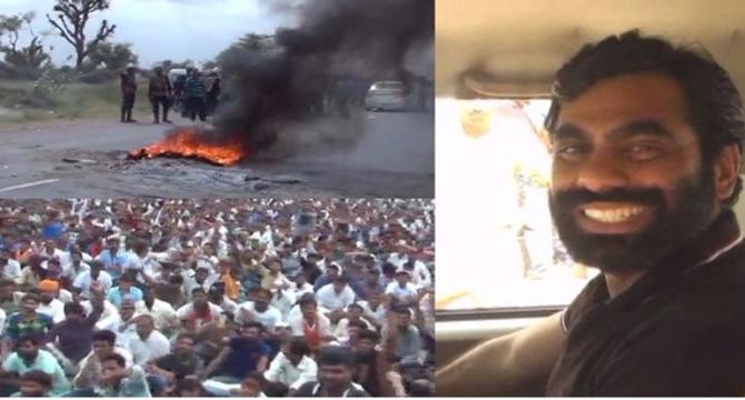 आनंदपाल एनकाउंटर: प्रदर्शनकारियों ने उखाड़ दिए रेलवे ट्रैक, दो ट्रेनें रद्द, चार के मार्ग बदले, कर्फ्यू