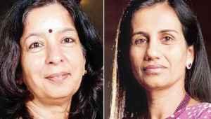 बैंक घोटाले से जुड़े एक मामले में चंदा कोचर, शिखा शर्मा को एन्टी-फ्रॉड एजेंसी का समन