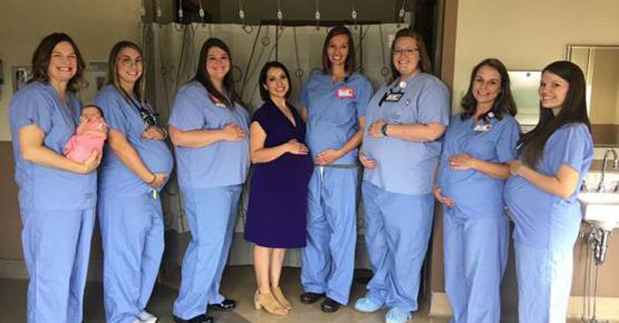 एक वक्त पर अस्पताल की 8 नर्स हो गई प्रेग्नेंट