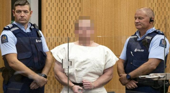 न्यूजीलैंड: 5 अप्रैल तक पुलिस कस्टडी में रहेगा मस्जिदों में गोलीबारी का आरोपी