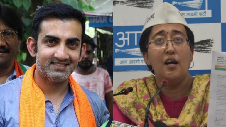 'AAP' उम्मीदवार आतिशी ने गंभीर पर लगाये आरोप, गौतम बोले- मानहानि का केस करूंगा