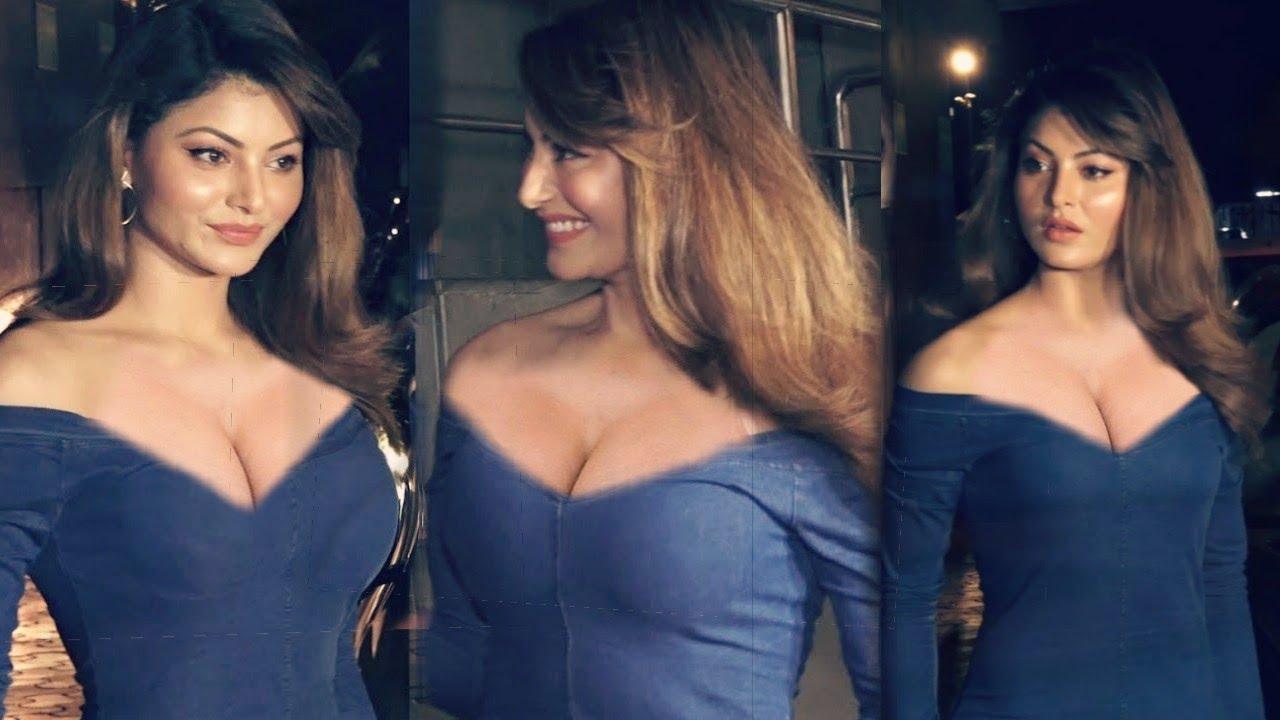 अजय देवगन की फिल्म स्क्रीनिंग पर एक्ट्रेस उर्वशी ने लूटी सुर्खियां