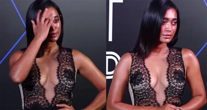 फिल्मों में स्पोर्टिंग रोल में नज़र आने वाली सयानी की ड्रेस बनी आकर्षण का केंद्र