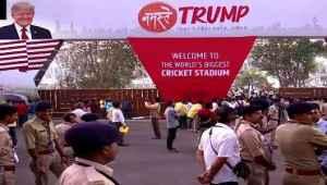 Breaking News:Namaste Trump हम रास्ते में हैं, कुछ ही घंटों में हम सबसे मिलेंगे!- ट्रंप ने हिंदी में किया ट्वीट