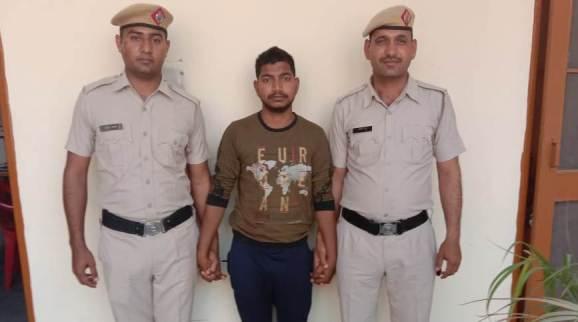 टिकरी गांव में हुई हत्या का आरोपी गिरफ्तार