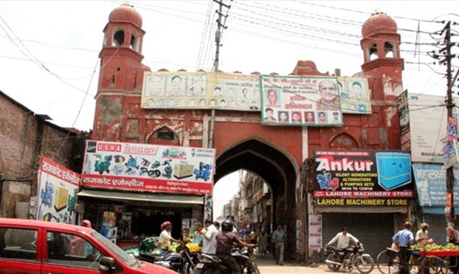दरवाजों का शहर-राजधानी दिल्ली