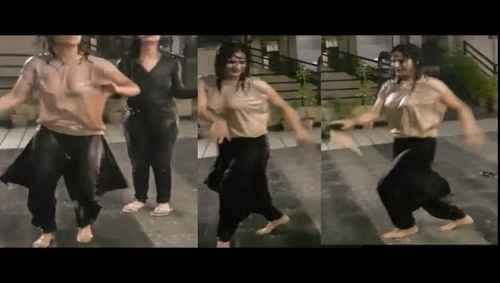 Actress Aarti Singh Dancing in rain