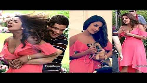 Priyanka Chopra Wardrobe Malfunction